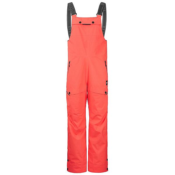 Picture Haakon Bib Womens Ski Pants 2022, Hot Coral, 600