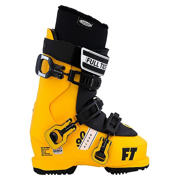 Full Tilt Plush 90 Womens Ski Boots 2022, Yellow-Black, 600