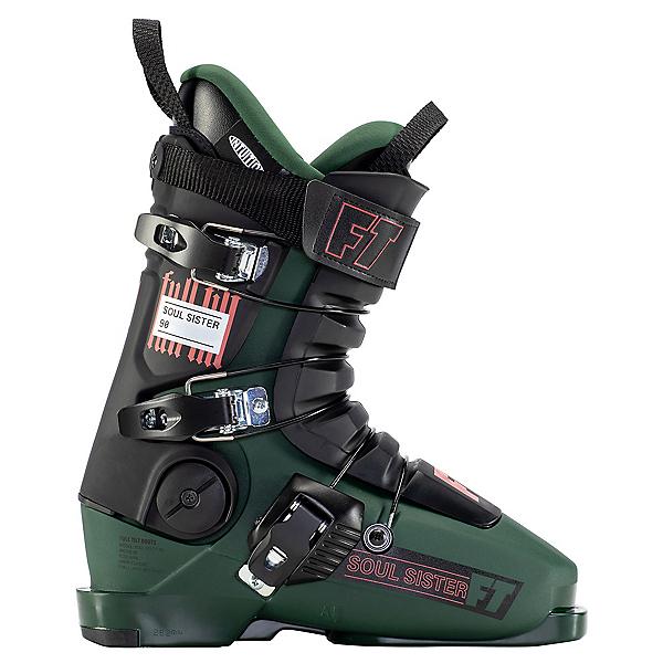 Full Tilt Soul Sister 90 Womens Ski Boots 2022, Green, 600