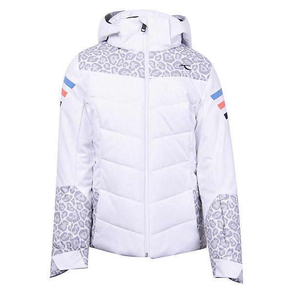 KJUS Madlain Girls Ski Jacket 2022, White-Smoke, 600