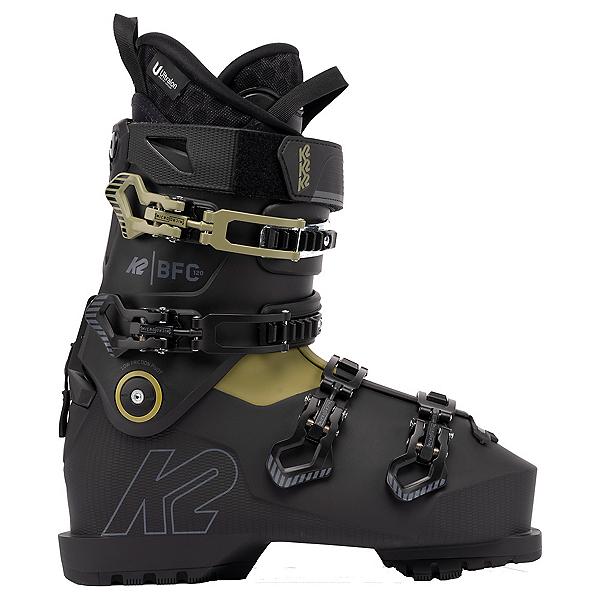 K2 BFC 120 Ski Boots 2022, Black-Green, 600