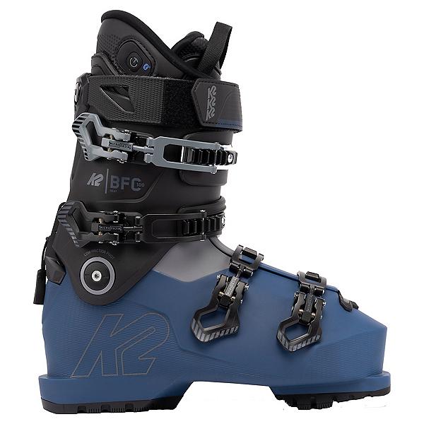 K2 BFC 100 Heat Ski Boots 2022, Black-Blue, 600