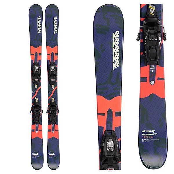 K2 Dreamweaver Kids Skis with Marker 7.0 FDT Bindings 2022, , 600
