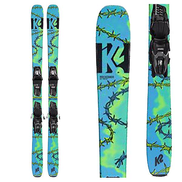 K2 Reckoner 92 Skis with Marker M2 10 Quikclik Bindings 2022, , 600