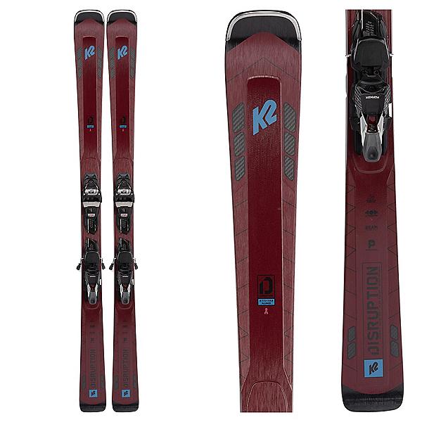 K2 Disruption 81 TI Alliance Womens Skis with ERC 11 TCX Light Bindings 2022, , 600