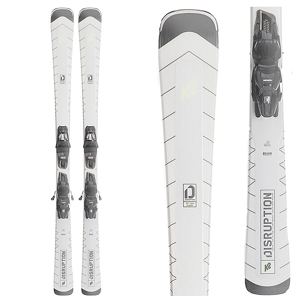 K2 Disruption 75 Alliance Womens Skis with ERP 10 Bindings 2022, , 600