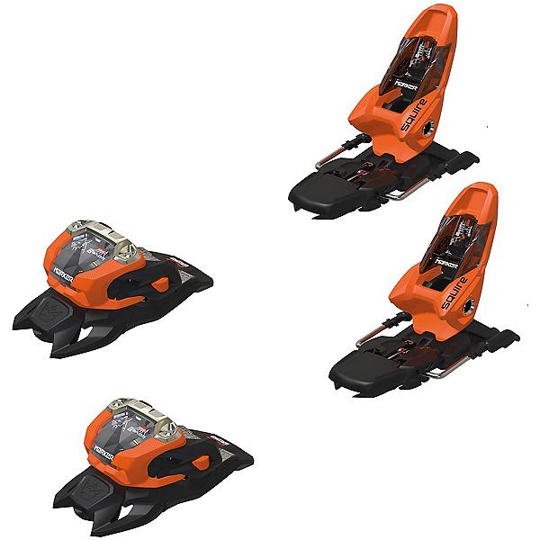 Marker Squire 11 Ski Bindings 2022, Orange-Black, 600