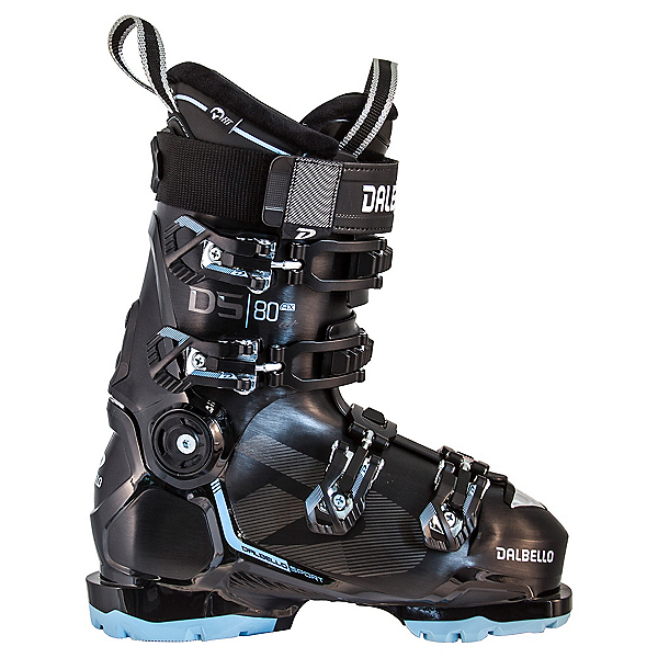 Dalbello DS AX 80 GW Womens Ski Boots 2022, Black-Pastel Blue, 600