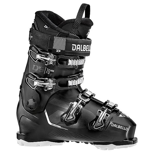Dalbello DS MX 70 GW Womens Ski Boots 2022, Black-Black, 600