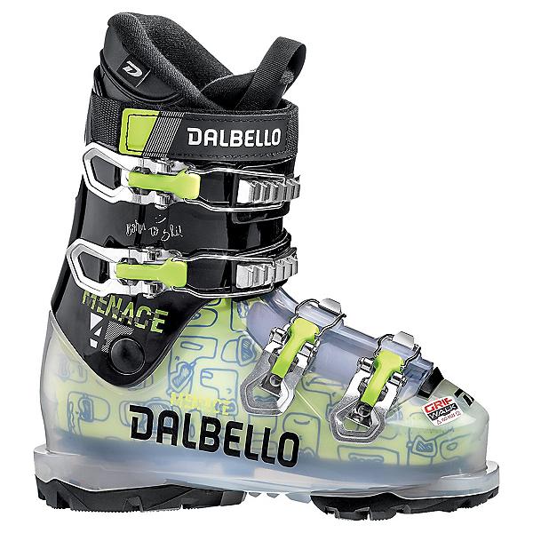 Dalbello Menace 4.0 GW Kids Ski Boots 2022, Transparent-Black, 600