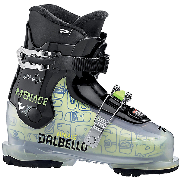 Dalbello Menace 2.0 GW Kids Ski Boots 2022, Transparent-Black, 600
