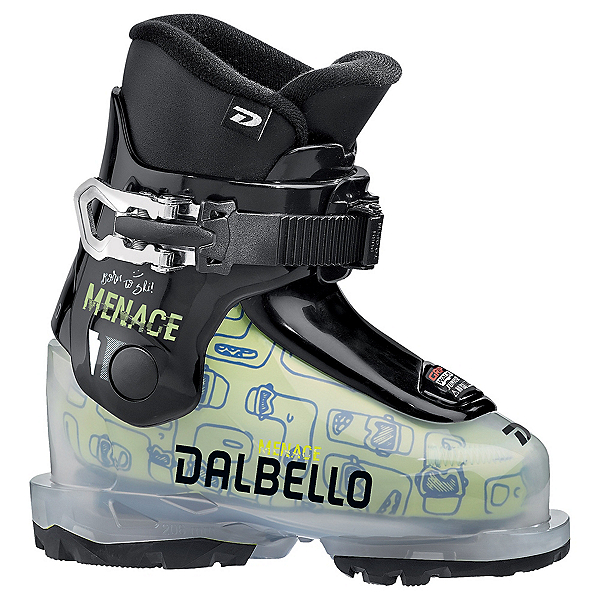 Dalbello Menace 1.0 GW Kids Ski Boots 2022, Transparent-Black, 600