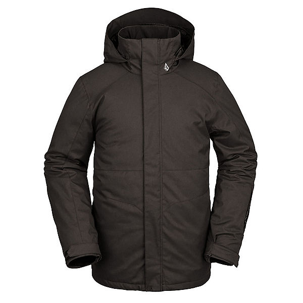 Volcom Scortch Mens Insulated Snowboard Jacket 2022, Black, 600