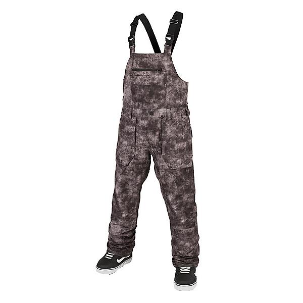 Volcom Roan Bib Overall Mens Snowboard Pants 2022, Acid Black, 600