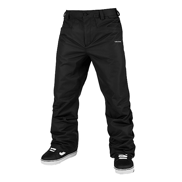 Volcom Carbon Mens Snowboard Pants 2022, Black, 600