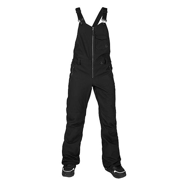 Volcom Swift Bib Overall Womens Snowboard Pants 2022, Black, 600