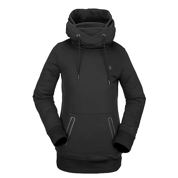 Volcom Polartec Ridin Womens Hoodie 2022, Black, 600