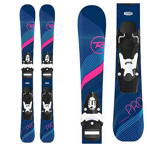 Rossignol Experience Pro W E S Kids Skis with Kid 4 GW Bindings, , 600