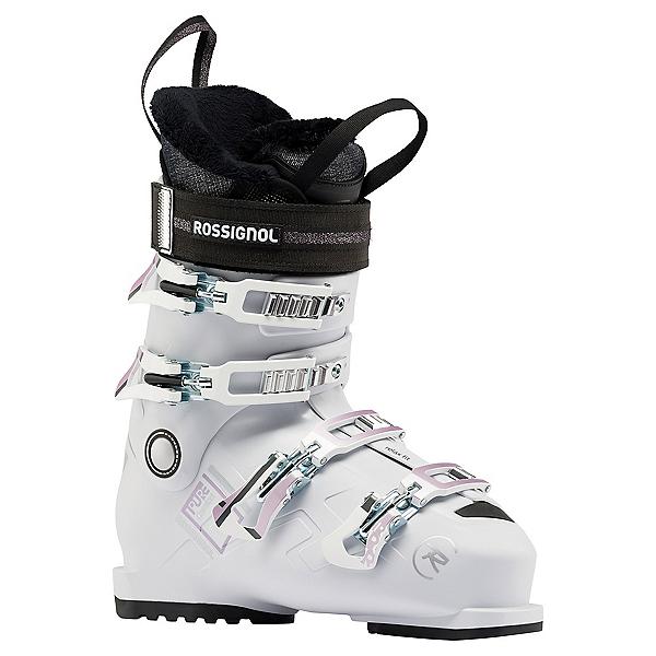 Rossignol Pure Comfort 60 Womens Ski Boots, White-Grey, 600