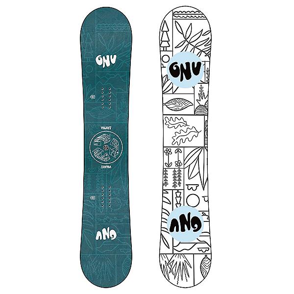 Gnu Velvet Womens Snowboard 2022, , 600