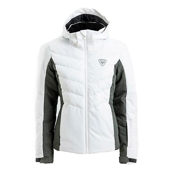 Rossignol Ariane Womens Insulated Ski Jacket 2022, Heather Grey, 600