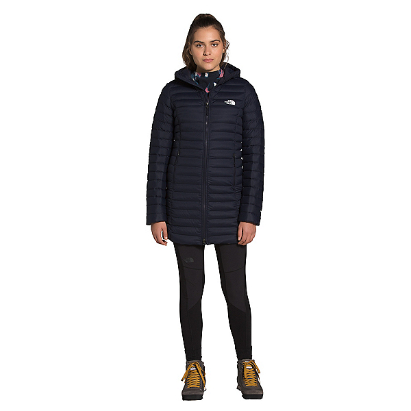 The North Face Stretch Down Womens Parka 2022, Aviator Navy, 600
