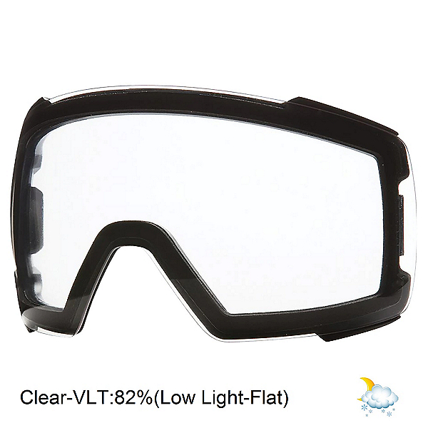 Smith 4D Mag Goggle Replacement Lens 2022, Clear, 600