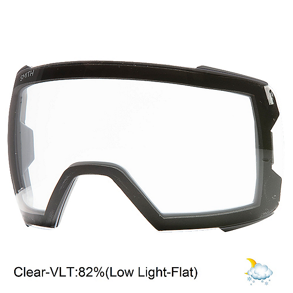 Smith I/O Mag XL Goggle Replacement Lens 2022, Clear, 600