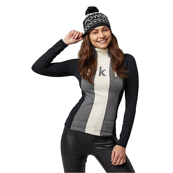 Alp-n-Rock Powder Beanie Womens Hat 2022, Black, 600