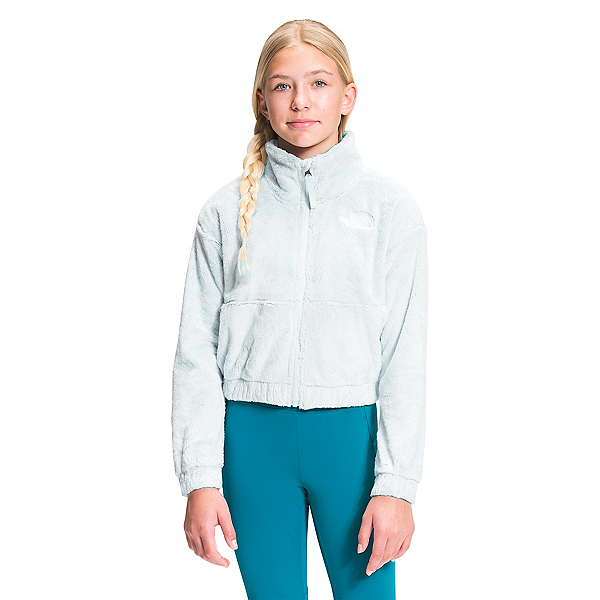 The North Face Osolita Full Zip Girls Jacket 2022, Ice Blue, 600