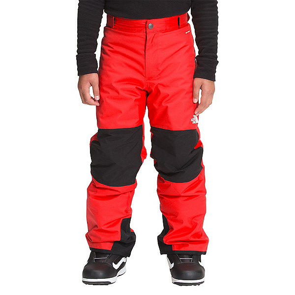 The North Face Freedom Insulated Boys Ski Pants 2022, Fiery Red, 600