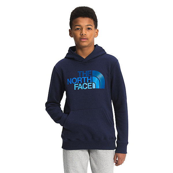The North Face Camp Fleece Kids Hoodie 2022, TNF Navy- Hero Blue, 600