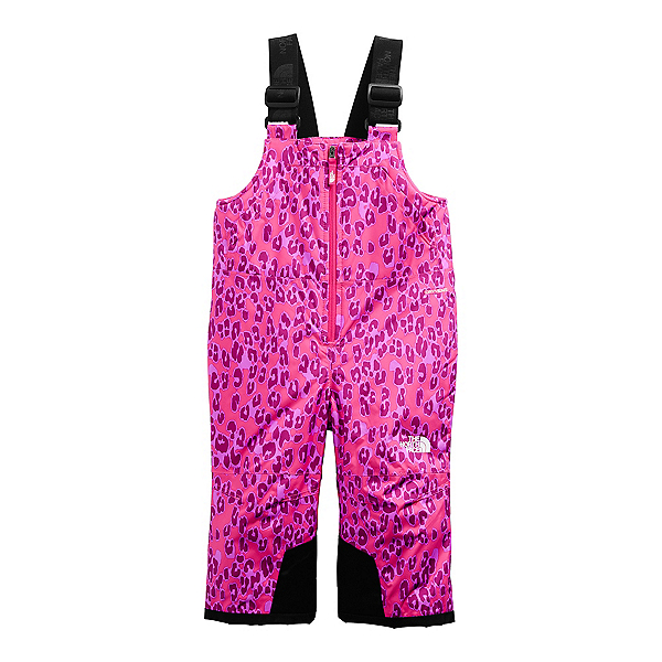 The North Face Snowquest Insulated Toddler Girls Ski Bibs 2022, , 600