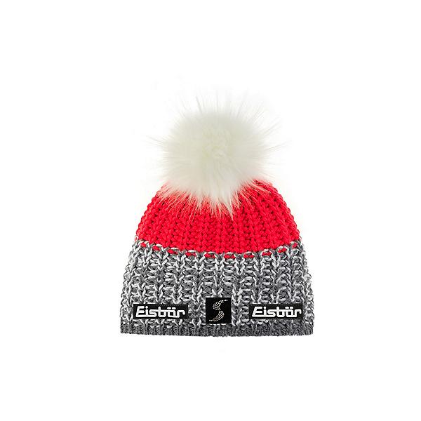 Eisbar Focus Lux Crystal MÜ SP Womens Hat 2022, Graumele White Diva Pink-Weiss, 600