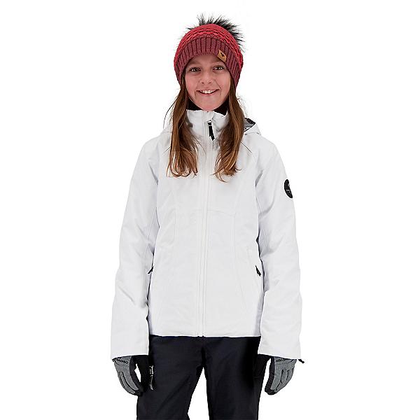 Obermeyer Rylee Girls Ski Jacket 2022, White, 600