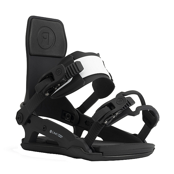 Ride C-6 Snowboard Bindings 2022, Scribble, 600