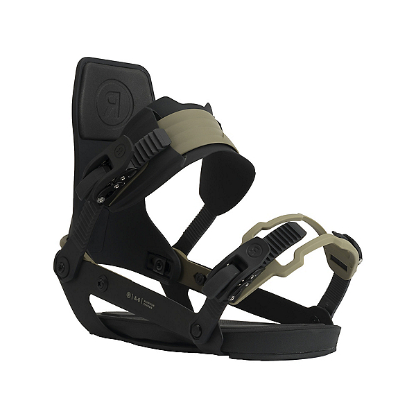 Ride A-6 Snowboard Bindings 2022, Olive, 600