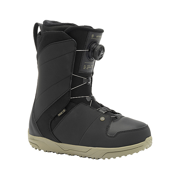 Ride Anthem Boa Coiler Snowboard Boots 2022, Olive, 600