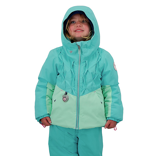 Obermeyer Livy Toddler Girls Ski Jacket 2022, Baby Blues, 600