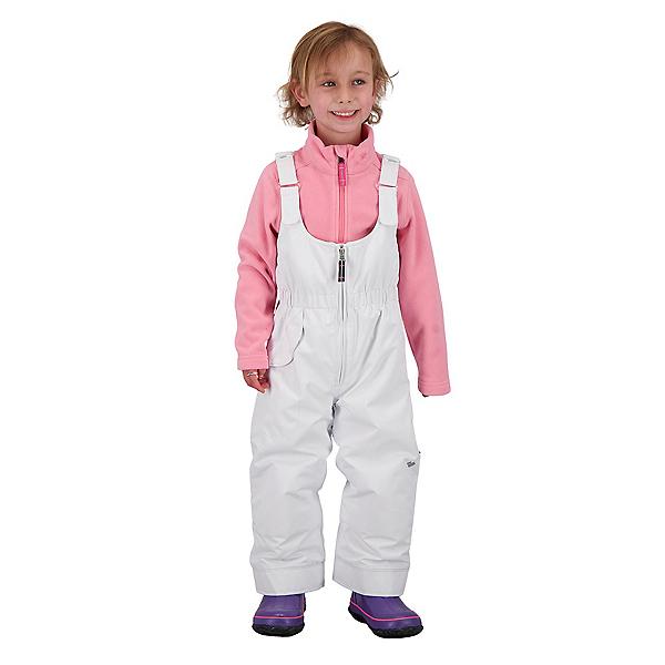 Obermeyer Snoverall Toddler Girls Ski Pants 2021 2022, White, 600