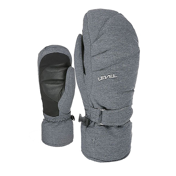 Level Ultralite Womens Mittens 2022, Anthracite, 600