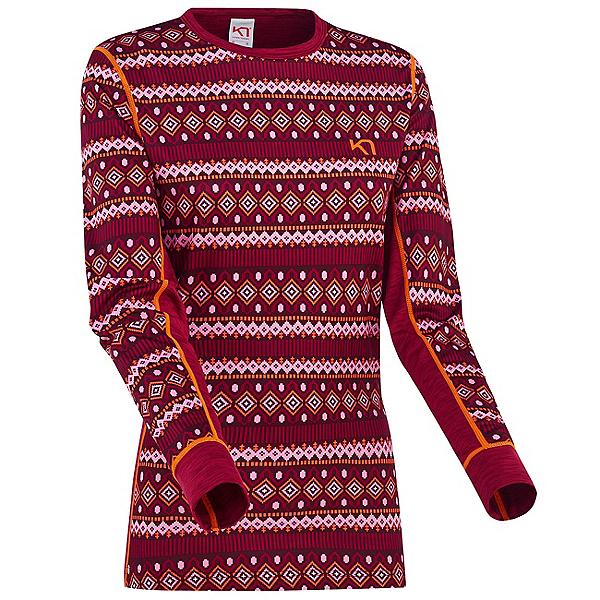 Kari Traa Lune Long Sleeve Womens Long Underwear Top 2022, Fancy, 600