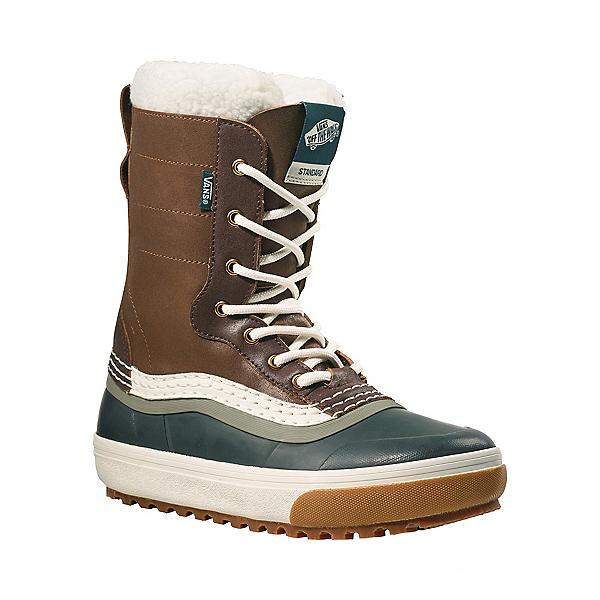 Vans Standard Snow MTE Womens Boots 2022, Dachshund-Jungle Green, 600