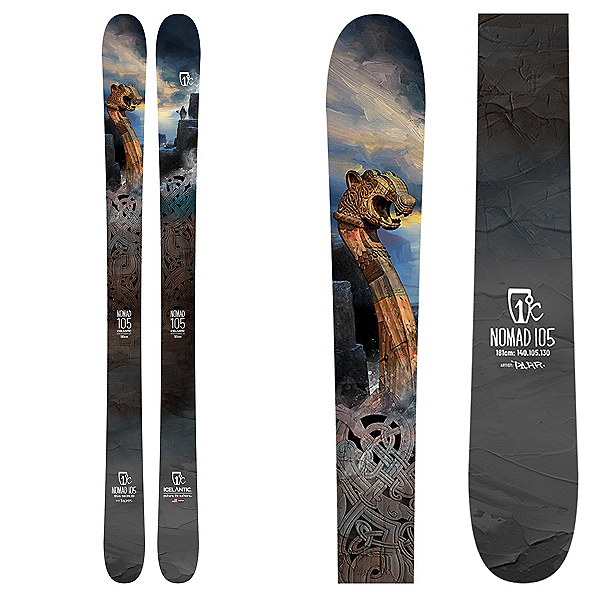 Icelantic Nomad 105 Skis 2022, , 600