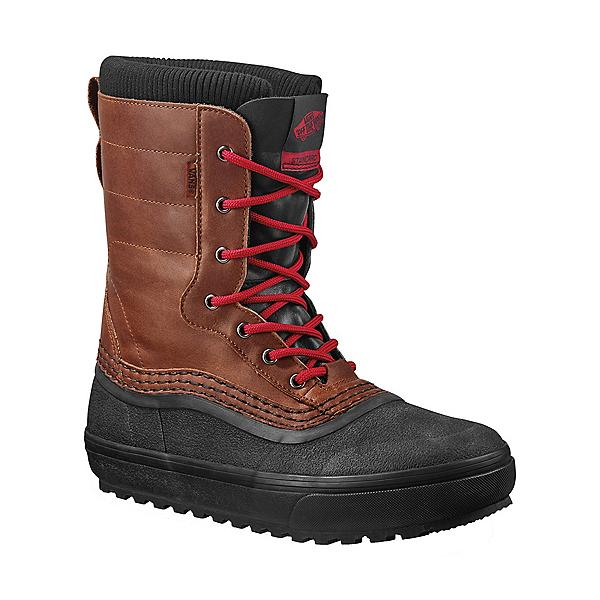 Vans Standard Snow MTE Mens Boots 2022, Brown-Red, 600