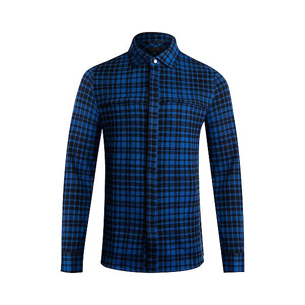 KJUS Yellowstone Flannel Shirt 2022, Motion Blue Black, 600