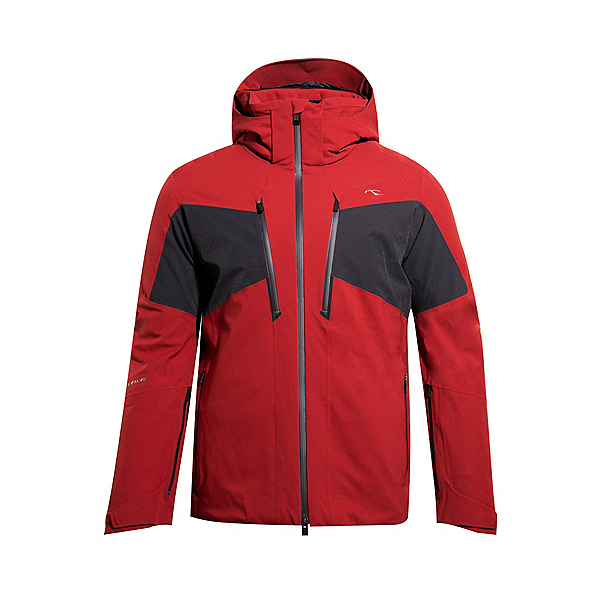 KJUS Evolve Mens Insulated Ski Jacket 2022, Red Dark Dust, 600