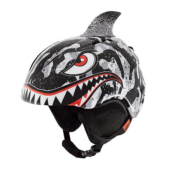 Giro Launch Plus Kids Helmet 2022, Gray Tiger Shark, 600