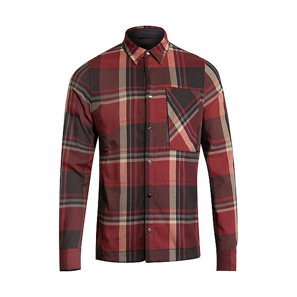 KJUS Ray Warm Flannel Shirt 2022, Garnet Red Dark Dusk, 600