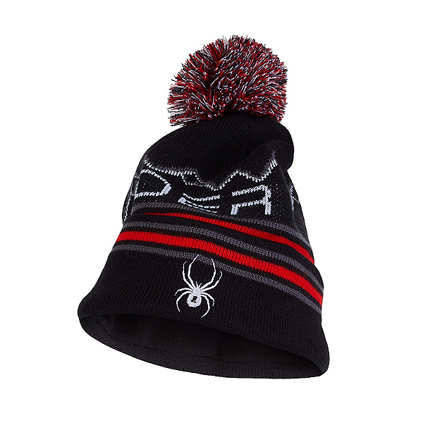 Spyder Icebox Toddler Kids Hat 2022, Blk Vco, 600